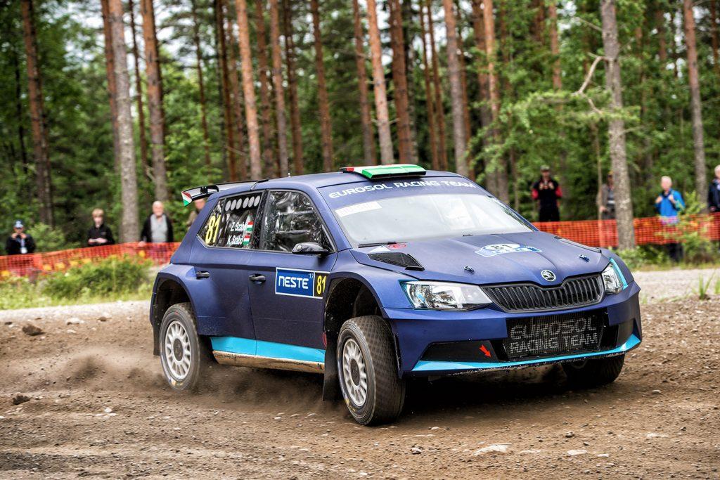 Zoltán Szabó / Krisztián Szabó, ŠKODA FABIA R5. Rally Finland 2017