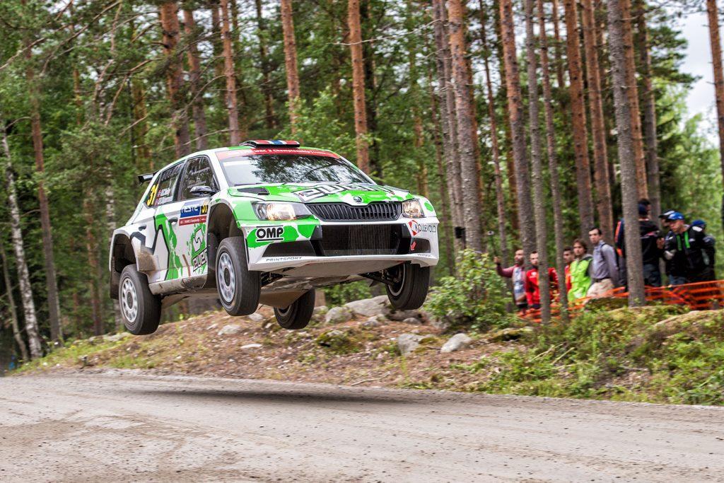 Ole Christian Veiby / Stig Rune Skjærmoen, ŠKODA FABIA R5, Printsport Oy. Rally Finland 2017