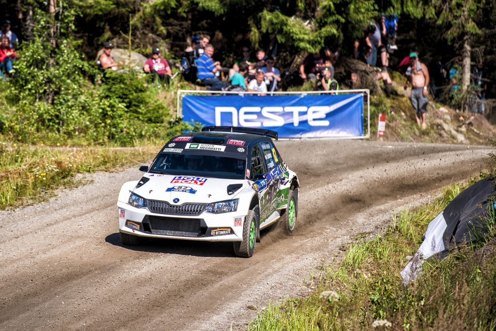 Ari Saxberg / Pekka Leppälä, ŠKODA FABIA R5. Rally Finland 2017
