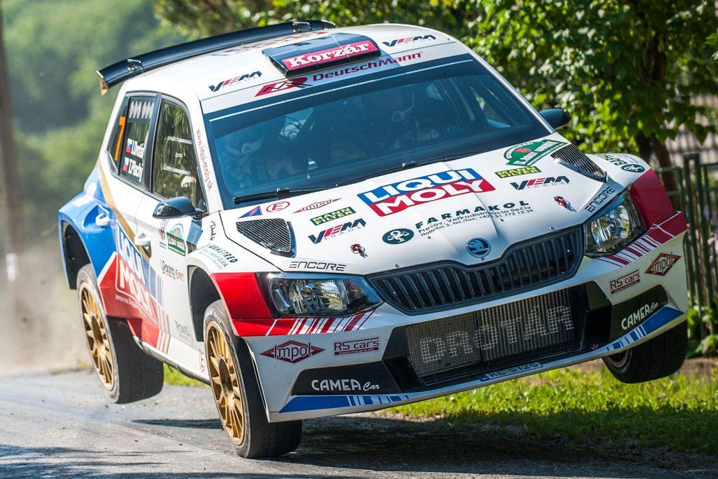 Igor Drotár / Tomáš Plachý, ŠKODA FABIA R5, Drotár Autošport. Rally Lubeník 2017