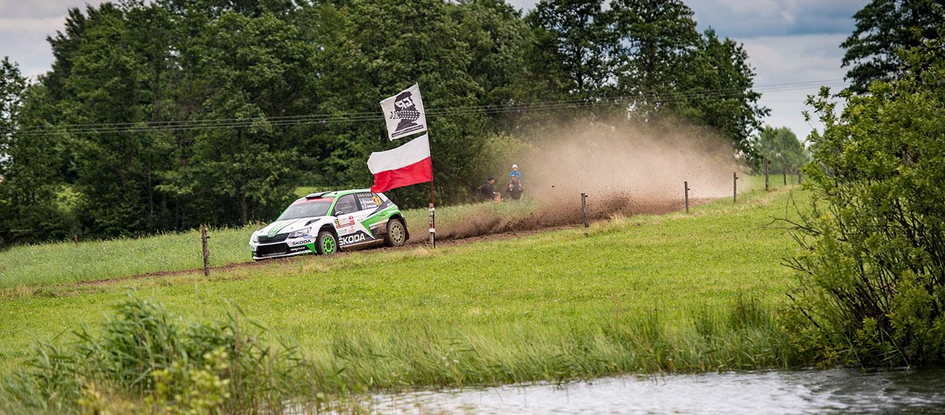 WRC Polsko: ŠKODA Dominuje kategorii WRC2
