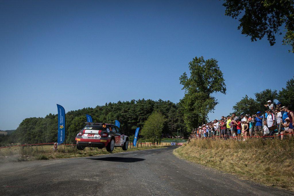 Nikolay Gryazin / Yaroslav Fedorov, ŠKODA FABIA R5, Sports Racing Technologies. Rallye Aveyron Rouergue – Occitanie 2017