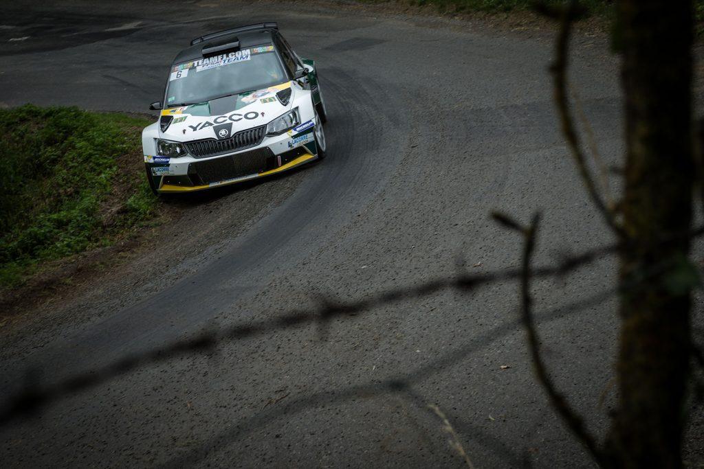 Jean-Sébastien Vigion / Valentin Sarreaud, ŠKODA FABIA R5, RTTC – Yacco. Rallye Aveyron Rouergue – Occitanie 2017