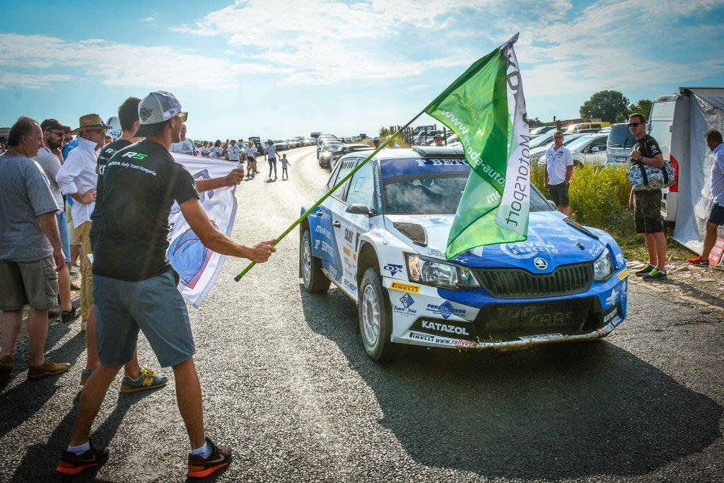 Péter Ranga / Tamás Szöke, ŠKODA FABIA R5, Ranga Rally Team. Veszprém Rallye 2017