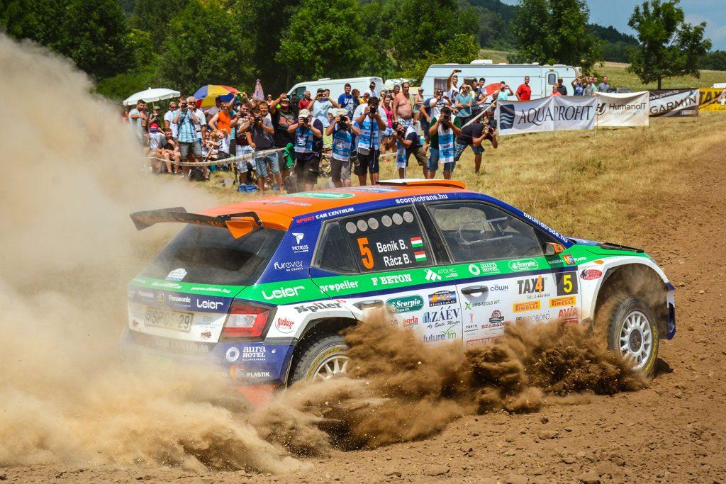 Balázs Benik / Bence Racz, ŠKODA FABIA R5, Eurosol Racing Team Hungary. Veszprém Rallye 2017