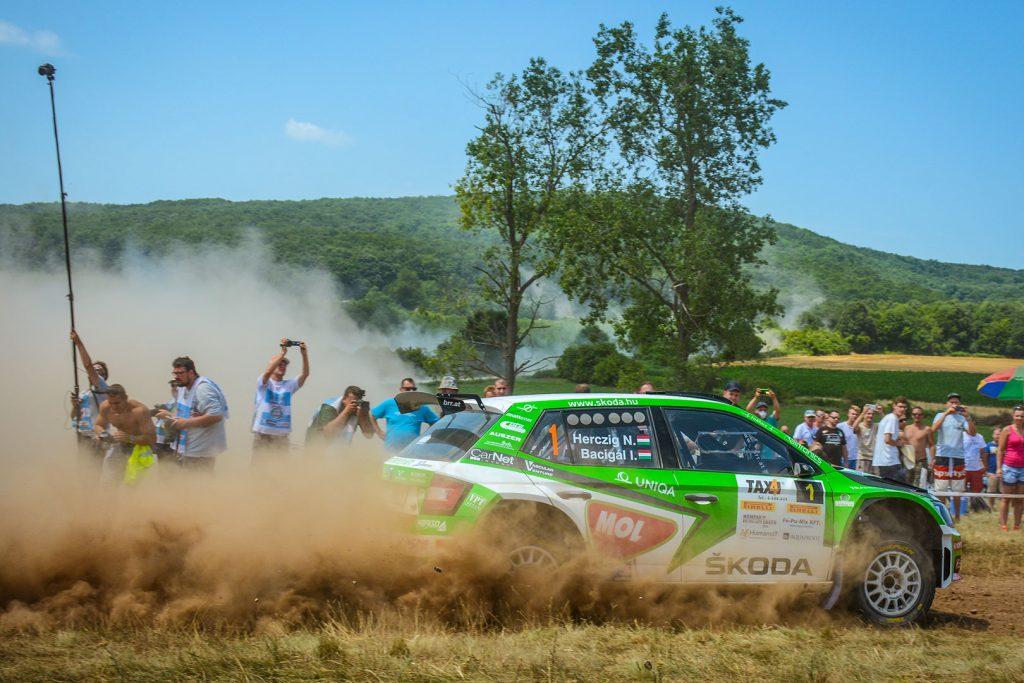 Norbert Herczig / Igor Bacigál, ŠKODA FABIA R5, ŠKODA Rally Team Hungaria. Veszprém Rallye 2017