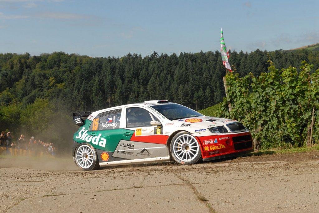 Jan Kopecký / Filip Schovánek, ŠKODA FABIA WRC, Czech Rally Team Kopecký. Rallye Deutschland 2007 (Foto: Motorsport Kopecký)
