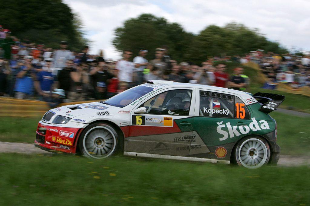 Jan Kopecký / Filip Schovánek, ŠKODA FABIA WRC, Czech Rally Team Kopecký. Rallye Deutschland 2007 (Photo: Motorsport Kopecký)