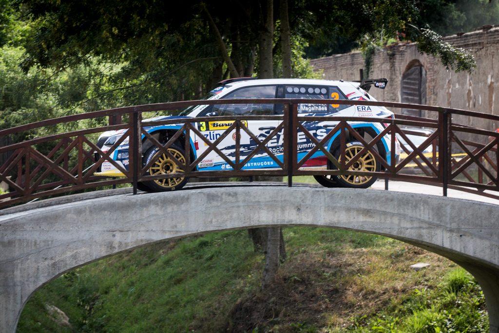Bruno Magalhães / Hugo Magalhães, ŠKODA FABIA R5. Barum Czech Rally Zlín 2017
