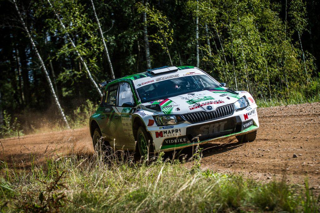 Raul Jeets / Andrus Toom, ŠKODA FABIA R5, Tehase Auto. Lõuna-Eesti Ralli 2017