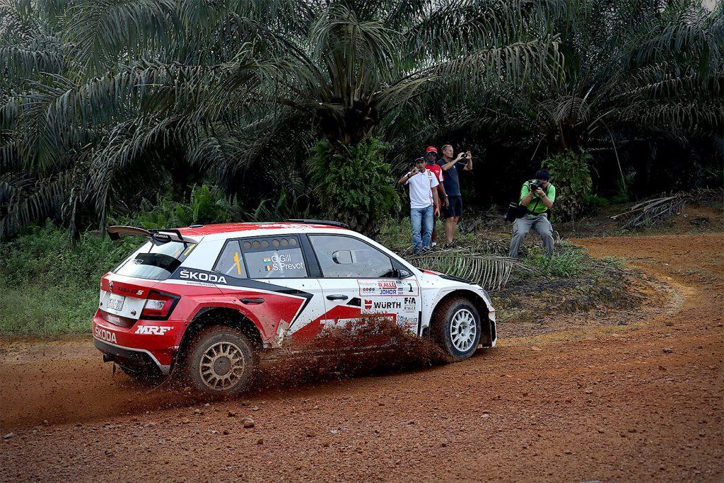 Gaurav Gill / Stéphane Prévot, ŠKODA FABIA R5, ŠKODA Team MRF. Malaysian Rally 2017