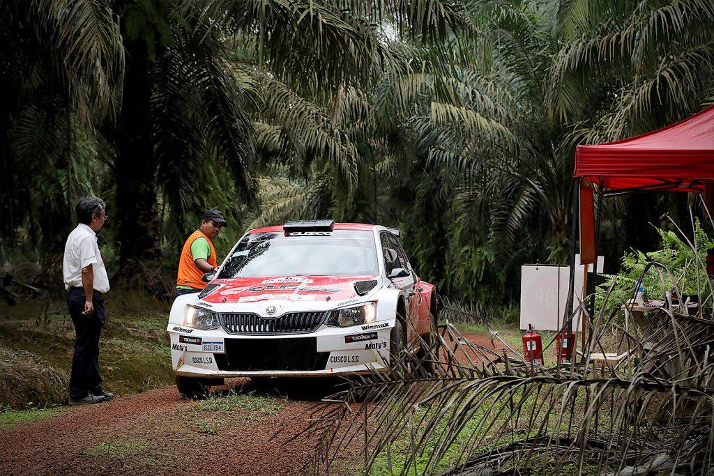 Yuya Sumiyama / Takahiro Yasui, ŠKODA FABIA R5, Cusco Racing. Malaysian Rally 2017