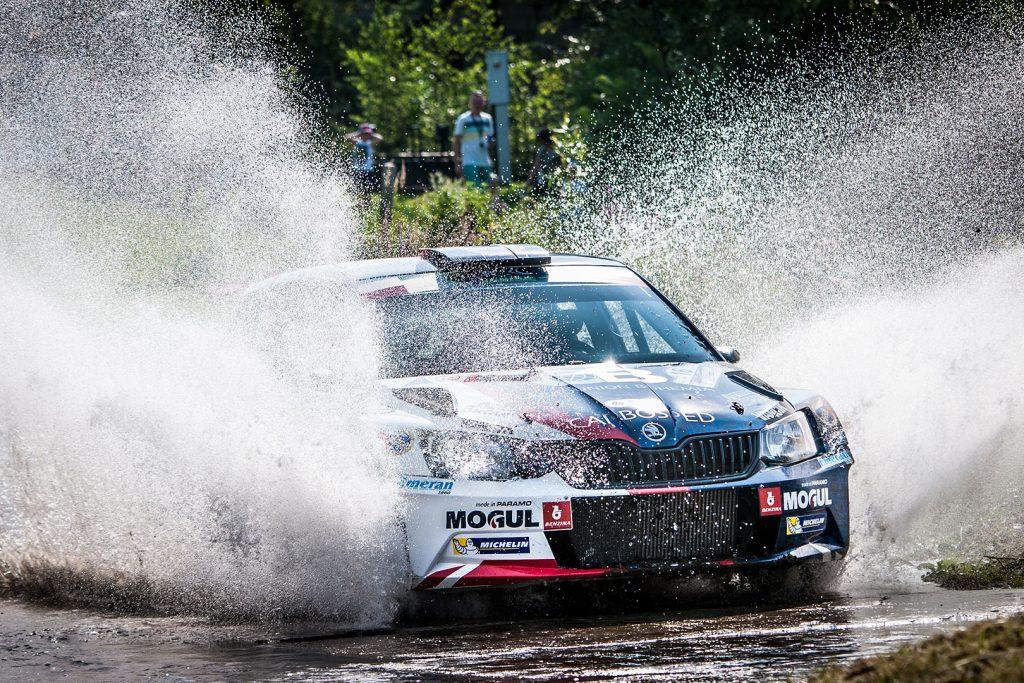 Jan Černý / Petr Černohorský jun., ŠKODA FABIA R5, ACCR Czech Team. Rajd Rzeszowski 2017
