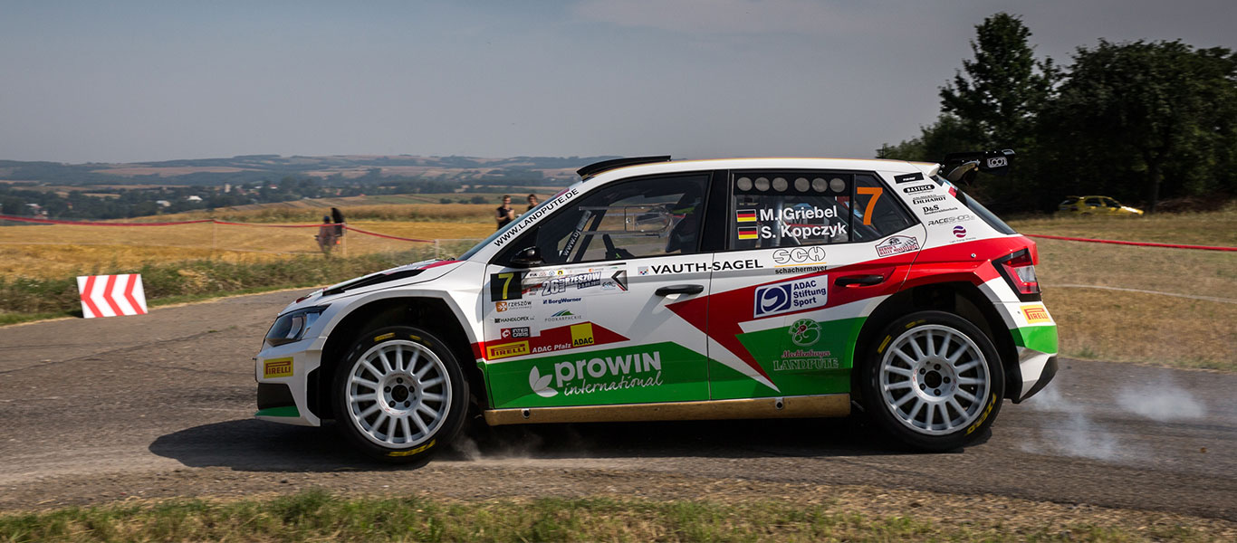 PHOTO: ŠKODA Customer Teams at the Rally Rzeszow 2017