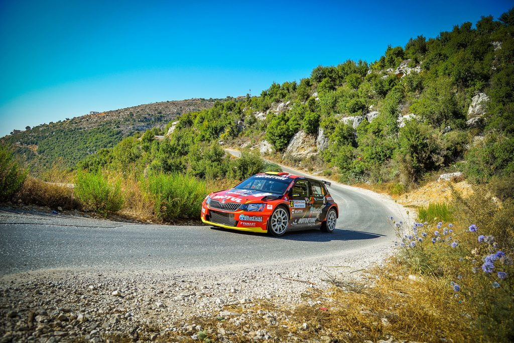 Roger Feghali / Joseph Matar, ŠKODA FABIA R5. Rally of Lebanon 2017 (Photo: Biser3a / The Action Crew)