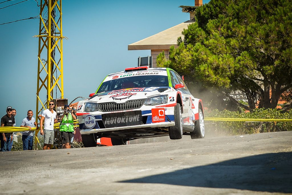 Abdo Feghali / Marc Haddad, ŠKODA FABIA R5. Rally of Lebanon 2017 (Photo: Biser3a / The Action Crew)