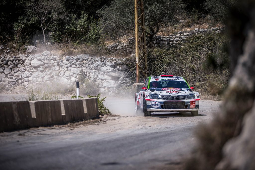 Abdo Feghali / Marc Haddad, ŠKODA FABIA R5. Rally of Lebanon 2017 (Foto: Biser3a / The Action Crew)