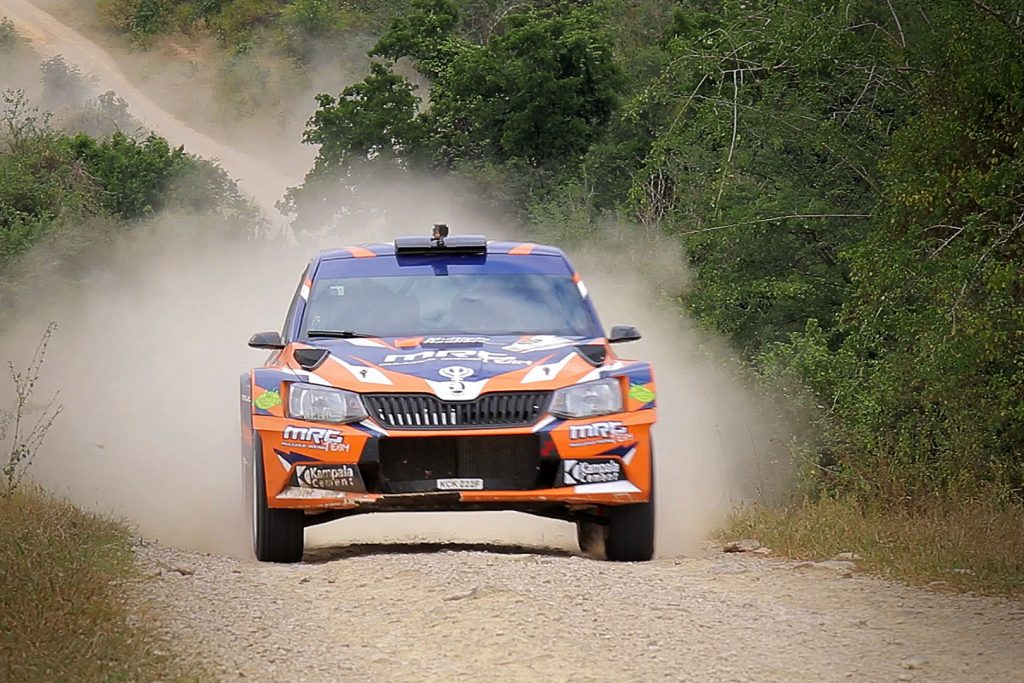 Manvir Singh Baryan / Drew Sturrock, ŠKODA FABIA R5, Multiple Racing Team. Rally of Tanzania 2017 (Foto: Rai Productions)