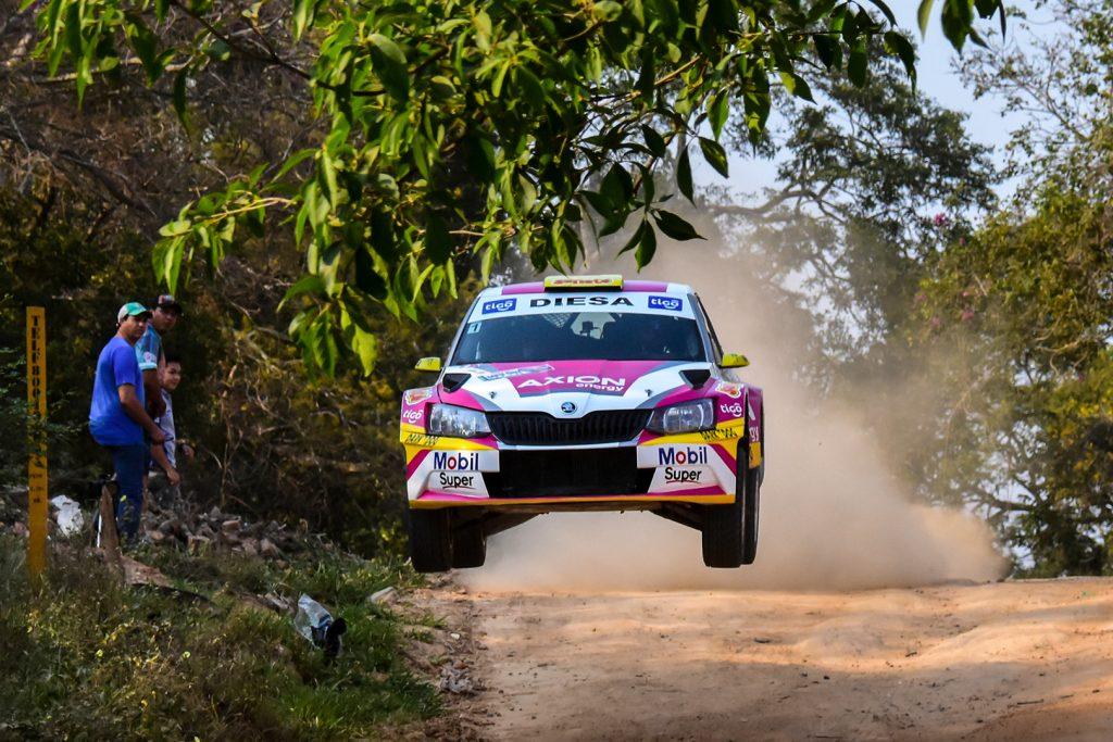 Gustavo Saba / Fernando Mussano, ŠKODA FABIA R5, Saba Compétition. Rally Santa Cruz 2017