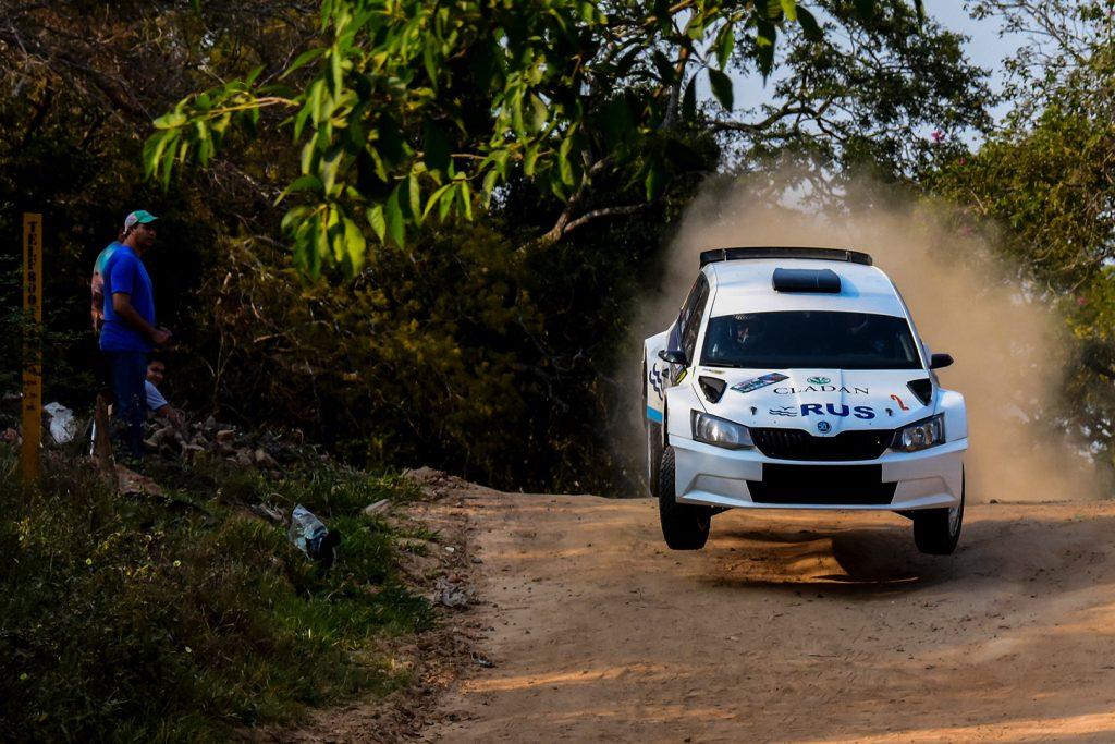 Marcos Ligato / Ruben Garcia, ŠKODA FABIA R5, Saba Compétition. Rally Santa Cruz 2017