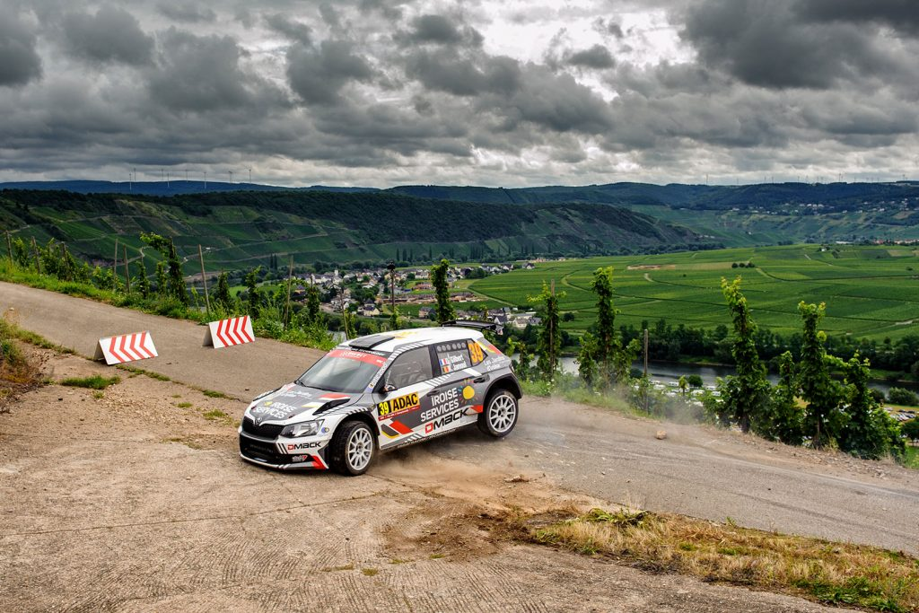 Quentin Gilbert / Renaud Jamoul, ŠKODA FABIA R5. Rallye Deutschland 2017