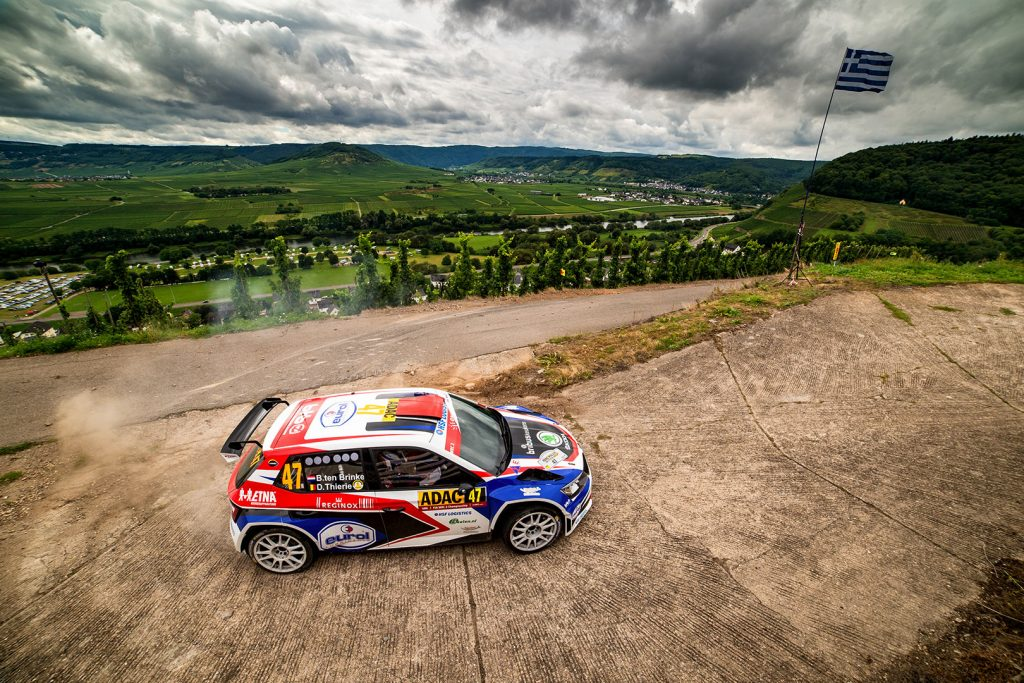 Bernhard ten Brinke / Davy Thierie, ŠKODA FABIA R5, Adapta AS. Rallye Deutschland 2017