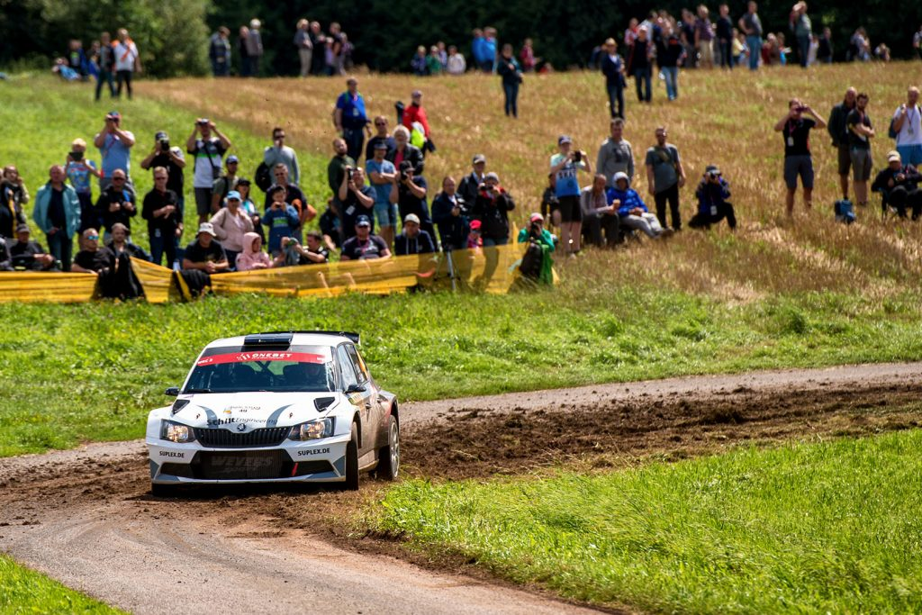 Edwin Schilt / Lisette Bakker, ŠKODA FABIA R5, Styllex Motorsport s.r.o.. Rallye Deutschland 2017