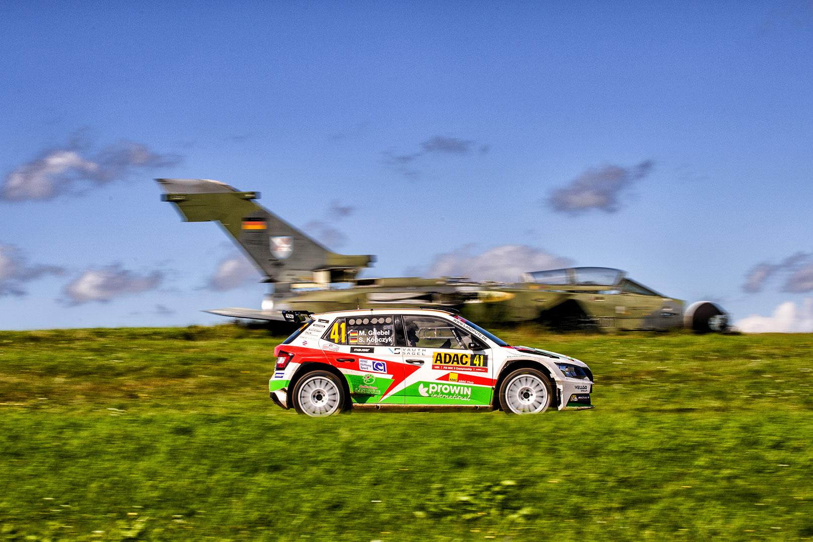 Marijan Griebel / Stefan Kopczyk, ŠKODA FABIA R5, BRR Baumschlager Rallye & Racing Team. Rallye Deutschland 2017