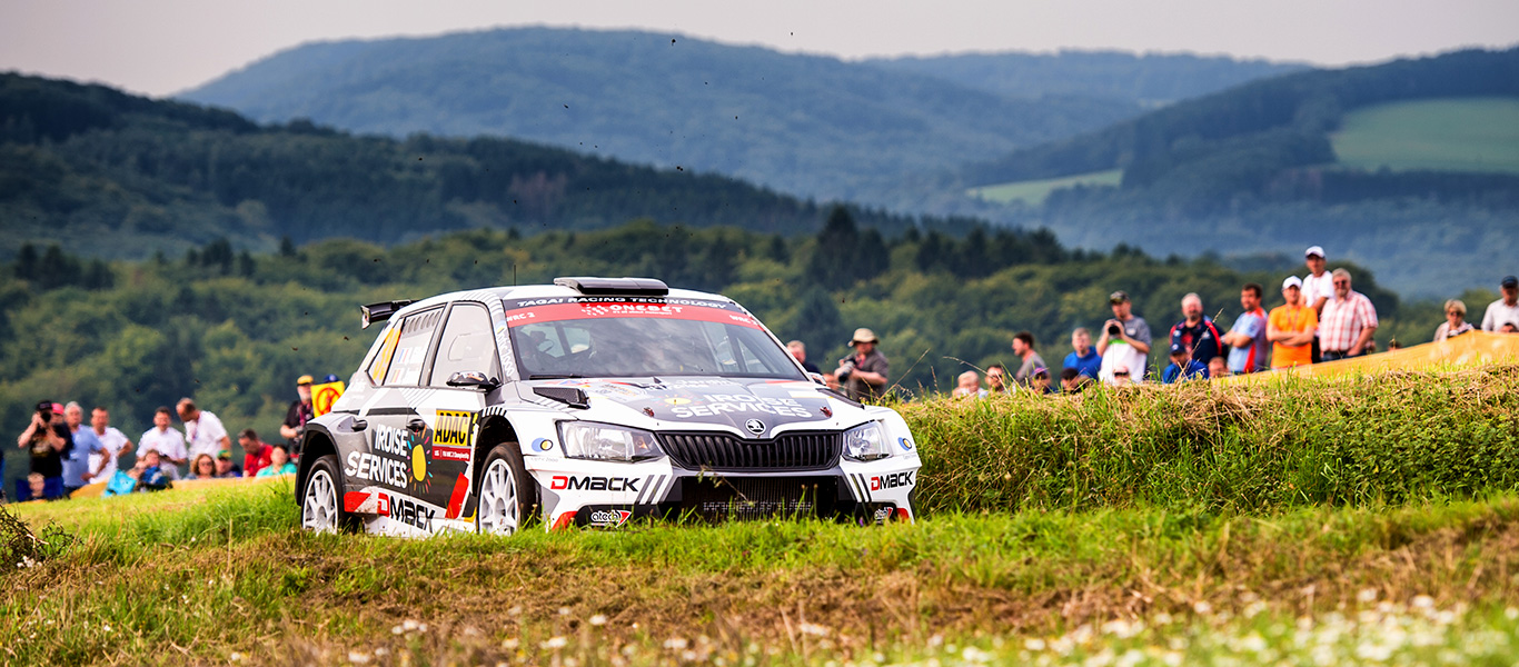 PHOTO: ŠKODA Customer Teams at the Rallye Deutschland 2017
