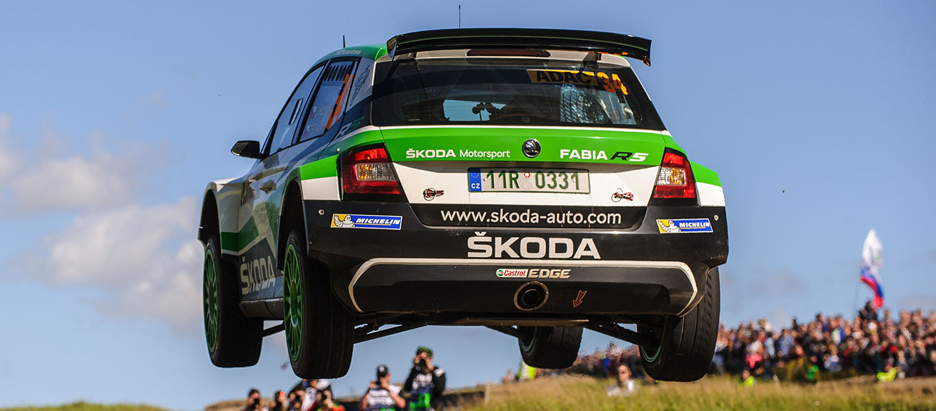 PHOTO: ŠKODA Motorsport at the Rallye Deutschland 2017