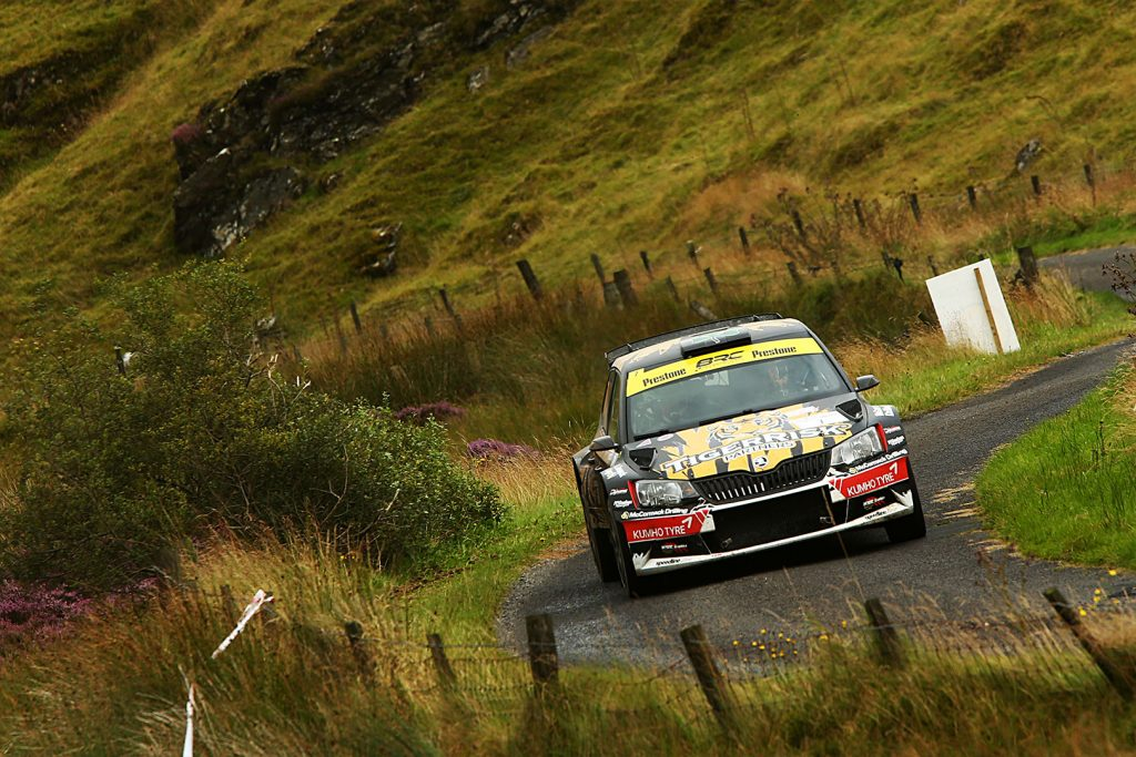 Martin McCormack / David Moynihan, ŠKODA FABIA R5. Ulster Rally 2017
