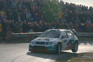 Jan Kopecký / Filip Schovánek, ŠKODA FABIA WRC, ŠKODA Motorsport. Rally Catalunya - Costa Brava 2004