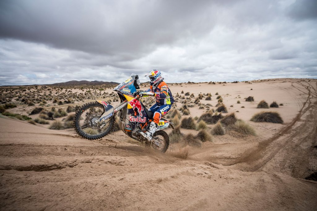Matthias Walkner, Red Bull KTM. Rally Dakar 2017. (Foto: Red Bull Content Pool)
