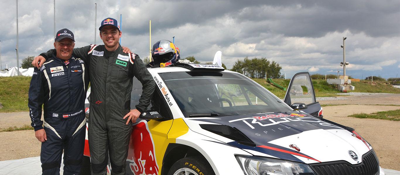 Hvězda Rally Dakar testovala vůz ŠKODA FABIA R5