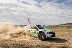 Dan Girtofan / Tudor Marza, ŠKODA FABIA R5. Cotnari Rally Iasi 2017 (Photo: Adrian Torjoc & Bogdan Barabas)