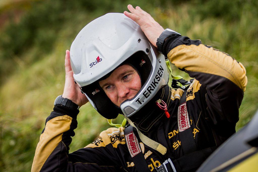 Torstein Eriksen, ŠKODA FABIA R5. Isle of Man Rally 2017