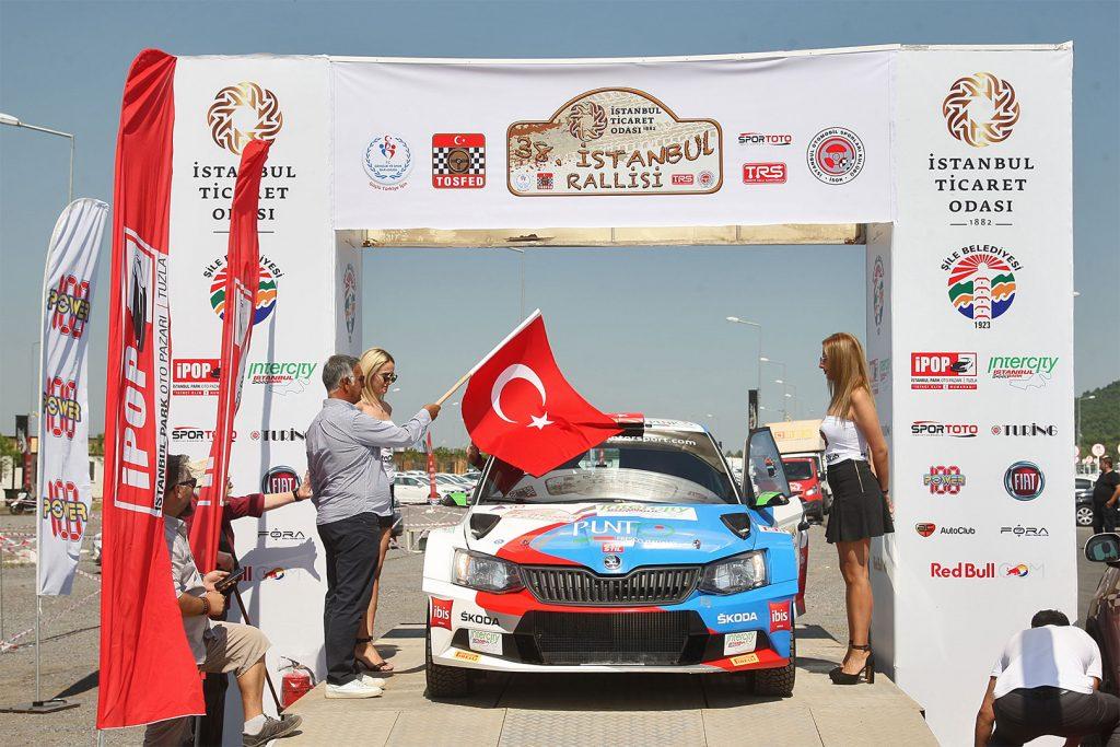 Burak Çukurova / Vedat Bostanci, ŠKODA FABIA R5, BC Vision Motorsport. Istanbul Rallisi 2017