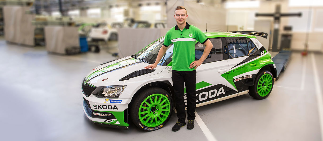 ŠKODA starts Young Drivers Program – Juuso Nordgren competing in RallyRACC Catalunya