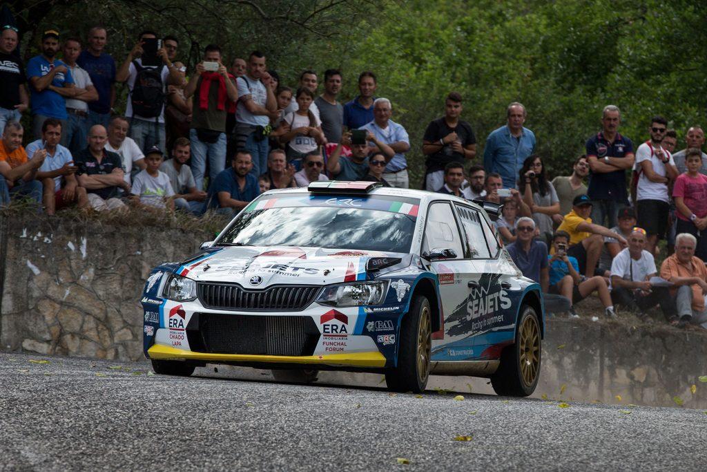 Bruno Magalhães / Hugo Magalhães, ŠKODA FABIA R5. Rally di Roma Capitale 2017