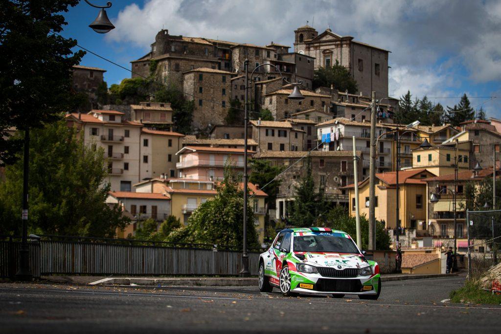 Tonino Di Cosimo / Paolo Francescucci, ŠKODA FABIA R5, Motorsport Italia. Rally di Roma Capitale 2017