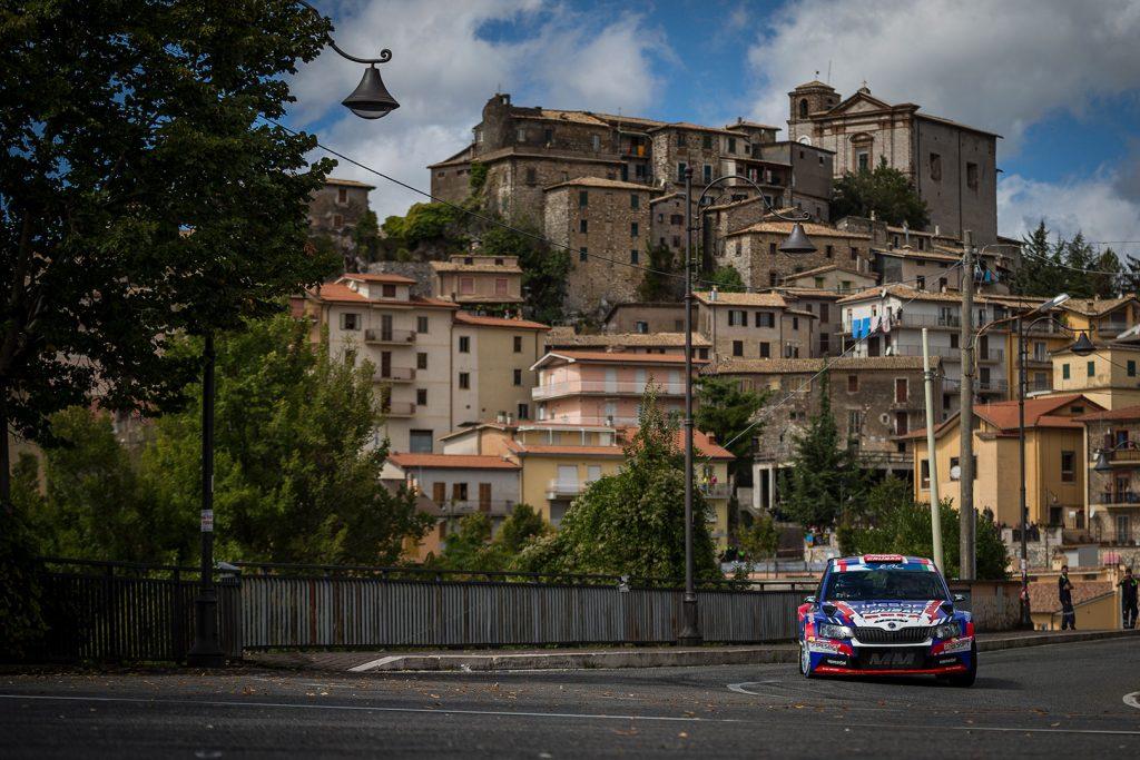 Grzegorz Grzyb / Jakub Wróbel, ŠKODA FABIA R5, Rufa Sport. Rally di Roma Capitale 2017