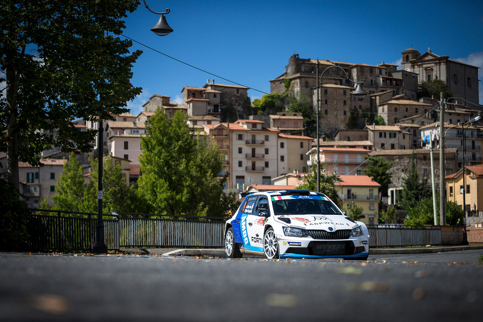 Albert von Thurn und Taxis / Bjorn Degandt, ŠKODA FABIA R5. Rally di Roma Capitale 2017