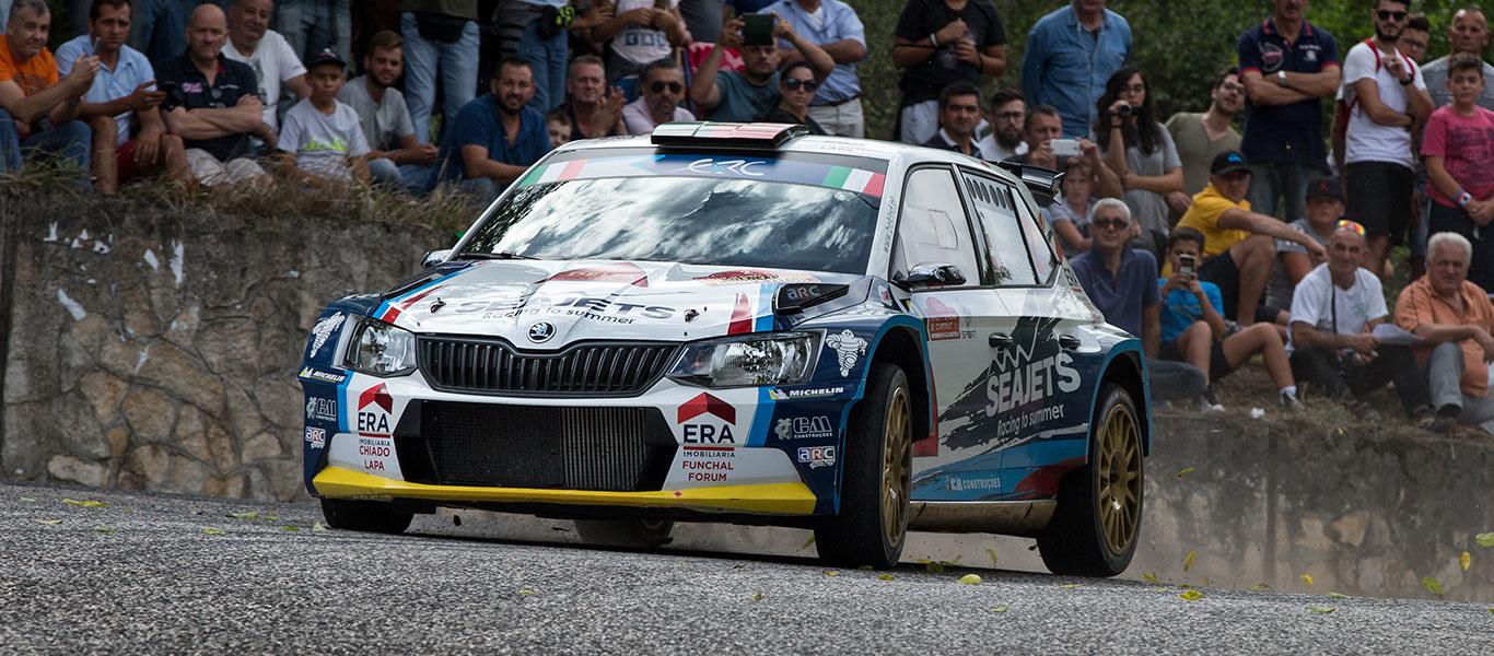FOTO: Vozy ŠKODA FABIA R5 na Rally di Roma Capitale 2017