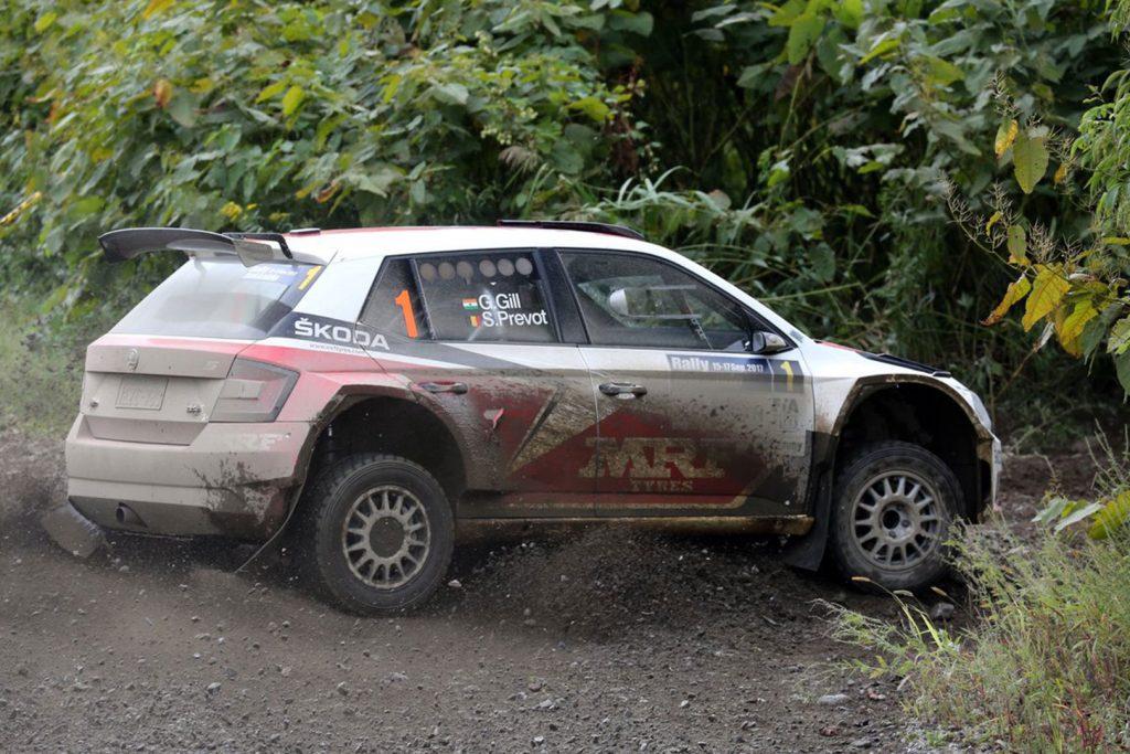 Gaurav Gill / Stéphane Prévot, ŠKODA FABIA R5, ŠKODA Team MRF. Rally Hokkaido 2017 (Foto: Racetorque)