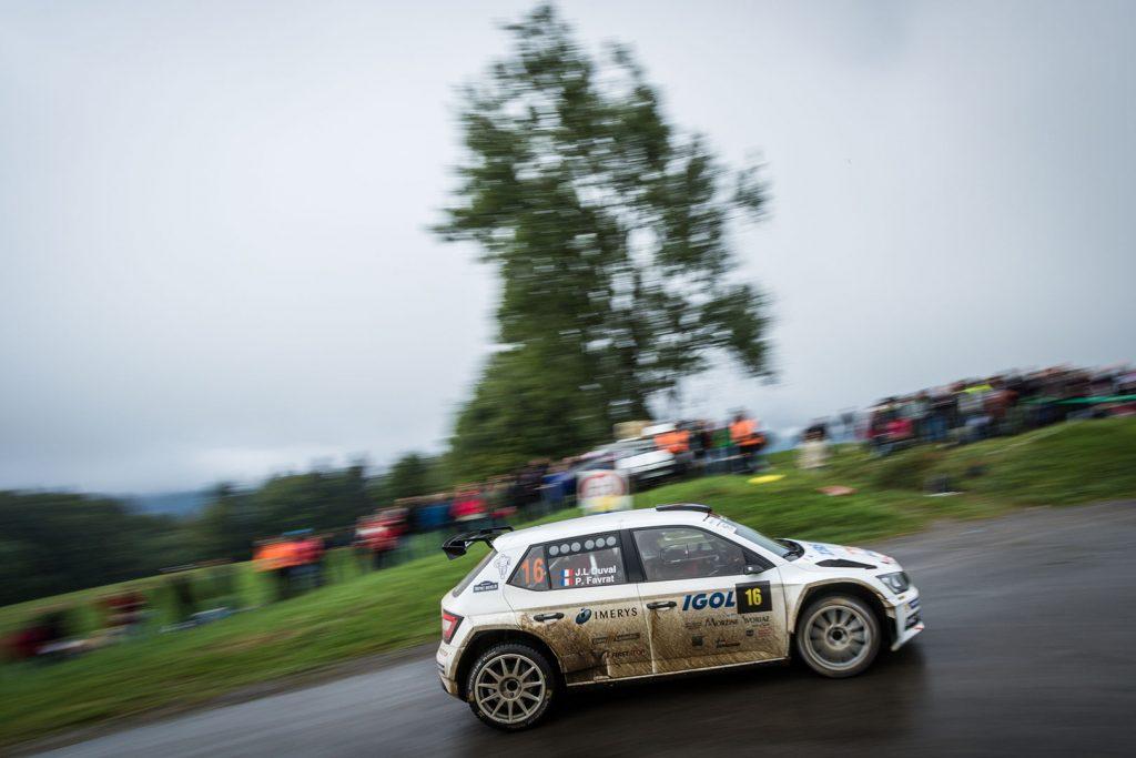 Pascal Favrat / Jean-Luc Duval, ŠKODA FABIA R5. Rallye Mont-Blanc Morzine 2017