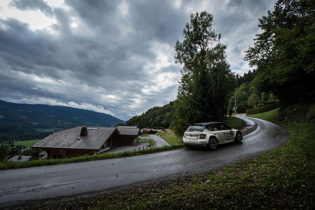 Julien-Alexandre Courchet / Gilles Combe, ŠKODA FABIA R5. Rallye Mont-Blanc Morzine 2017