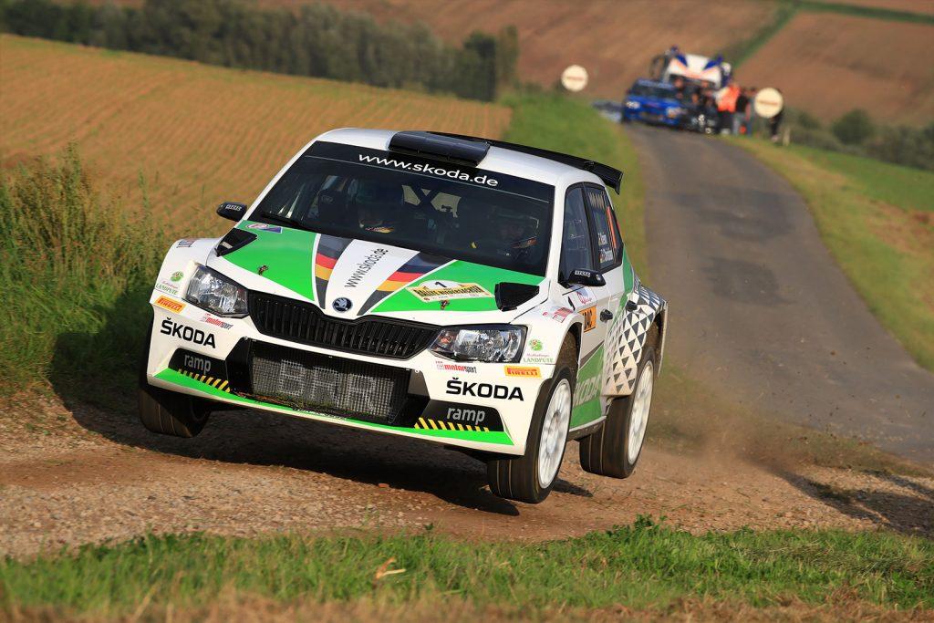 Fabian Kreim / Frank Christian, ŠKODA FABIA R5, ŠKODA AUTO Deutschland. Rallye Niedersachsen 2017