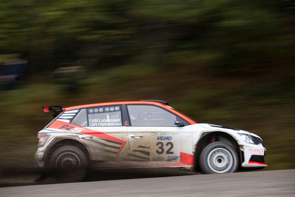 Mikko Lehessaari / Reeta Hämäläinen, ŠKODA FABIA R5, Hannu's Rally Team. SM Oili Jalonen Ralli 2017