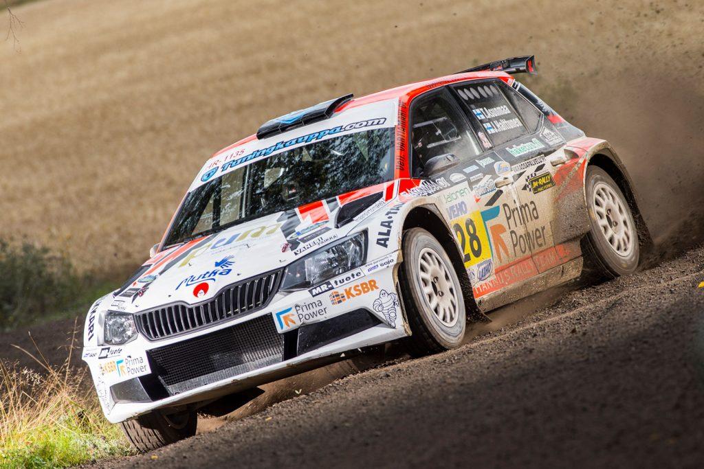 Teemu Asunmaa / Jonne Halttunen, ŠKODA FABIA R5, Hannu's Rally Team. SM Oili Jalonen Ralli 2017