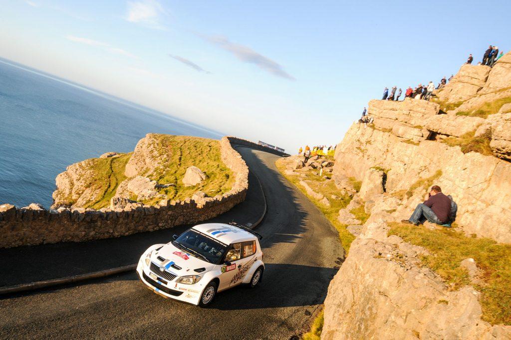 Kevin Abbring / Lara Vanneste, ŠKODA FABIA S2000, Volkswagen Motorsport. Wales Rally GB 2011
